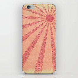 Pink Rays  iPhone Skin
