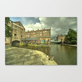 Nottingham Waterfront  Canvas Print