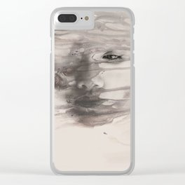 Untitled 13 Clear iPhone Case