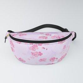 Cherry Flower Fanny Pack