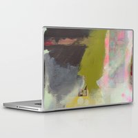 transparent Laptop & iPad Skins featuring Transparent Words by Natalie Baca