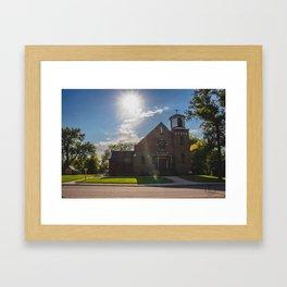 Holy Trinity Catholic Church, Fingal, North Dakota 2 Framed Art Print