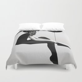 No Such Thing As Nothing Duvet Cover