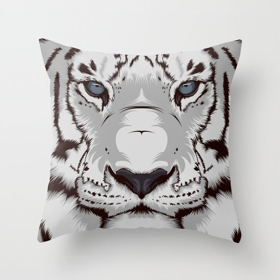 Tiger GW Throw Pillow