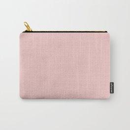 Modern Minimalist Design Solid Rose Quartz Carry-All Pouch
