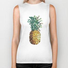 Pineapple Biker Tank