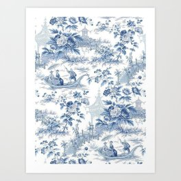 Chinoiserie Art Prints Society6