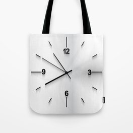 Wall clock background Tote Bag