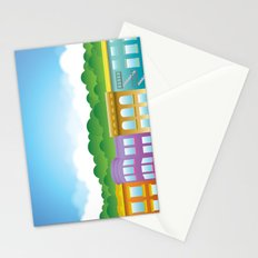 Brooklyn Brownstones Stationery Cards