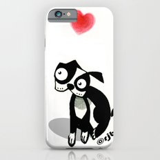 pouty face loves his dog iPhone 6s Slim Case