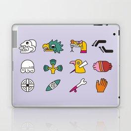 Aztec Writing Laptop & iPad Skin