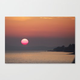 The red sphere Canvas Print