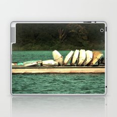 Boats on the Dock Laptop & iPad Skin