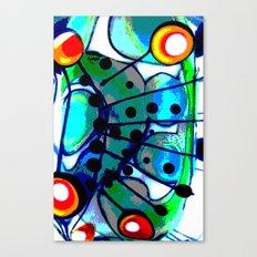 Abstract Explotion Canvas Print
