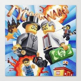 Tycoon Wars Canvas Print