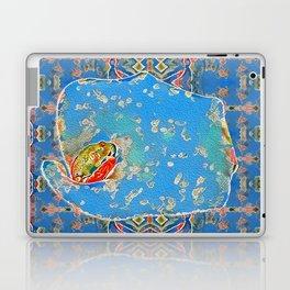 Portrait of a Mediterranean Frog Prince Laptop & iPad Skin
