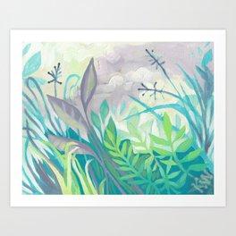 Enchanted Forest Floor III Art Print