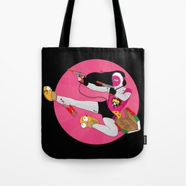 Action Geekette Tote Bag