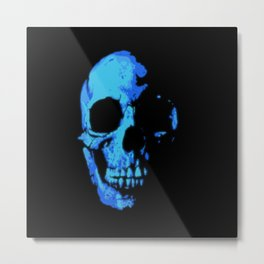 Fade into Darkness Metal Print