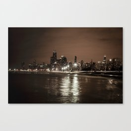 Chicago Nights Canvas Print