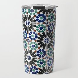 Azulejos Lisbon Portugal 4 Travel Mug
