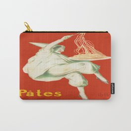 Vintage poster - Pates Baroni Carry-All Pouch