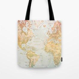 Pastel World Tote Bag