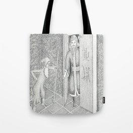 At Death's Door Tote Bag