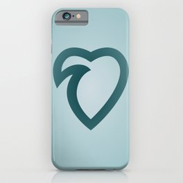 wavelove iPhone Case
