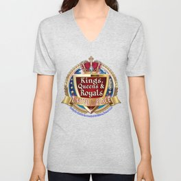 Kings, Queens & Royals United Unisex V-Neck