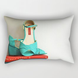 Books and Shoes Rectangular Pillow