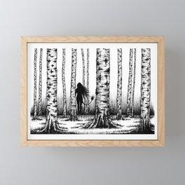 Wood Nymph Framed Mini Art Print