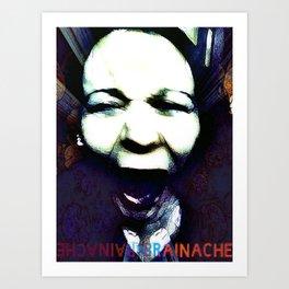 BrainAche! Art Print