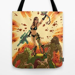 Babe of the Galaxy Tote Bag