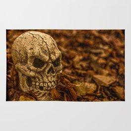 Halloween Skull 1 Rug