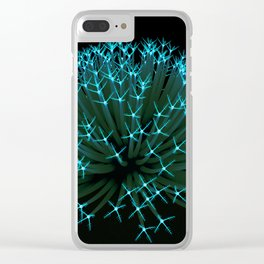 Anemone_001 Clear iPhone Case