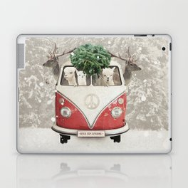ALPACA ALPACA ALPACA - NEVER STOP EXPLORING - X-MAS Laptop & iPad Skin