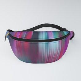 Colorful Motion Blur Fanny Pack