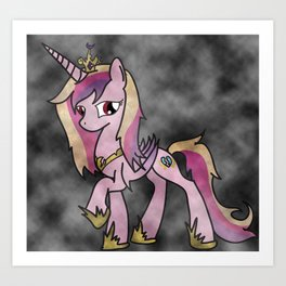 Cadence Corruption Art Print