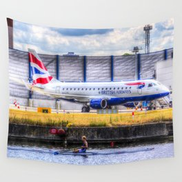 British Airways Single scull Wall Tapestry