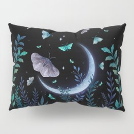 Moth Garden Pillow Sham