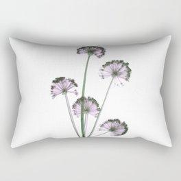 Pink flowers . wallpaper , flower decor, printable art Rectangular Pillow