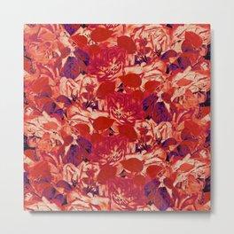 roses profusion in red Metal Print