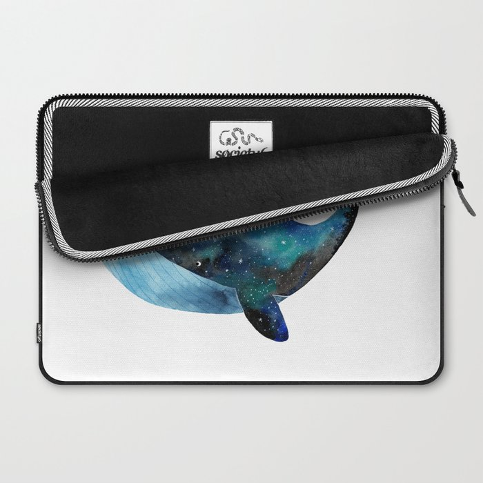 Galaxy whale Laptop Sleeve