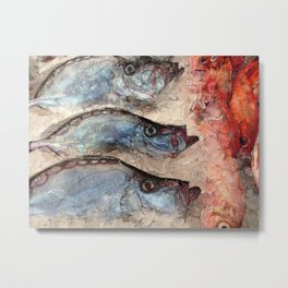 Harbor Fish Portland Maine Metal Print