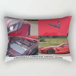 Classic red car Rectangular Pillow