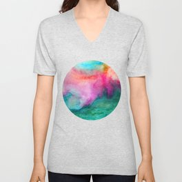 Staring at the Ceiling Unisex V-Neck