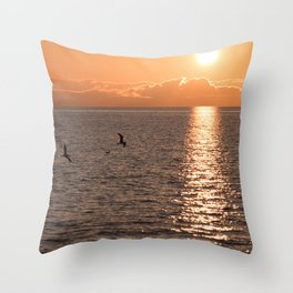 Asymmetrical Glow Throw Pillow