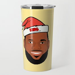 Lebron Christmas Travel Mug