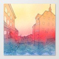 stockholm Canvas Prints featuring Stockholm by Jonas Ericson
